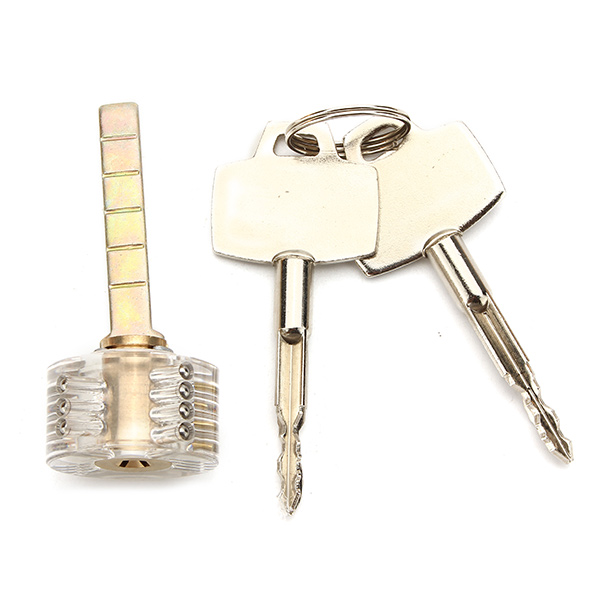 SPARTA 6pcs Visible Cutaway Practice Locks For Locksmith - Lockpick Beginner