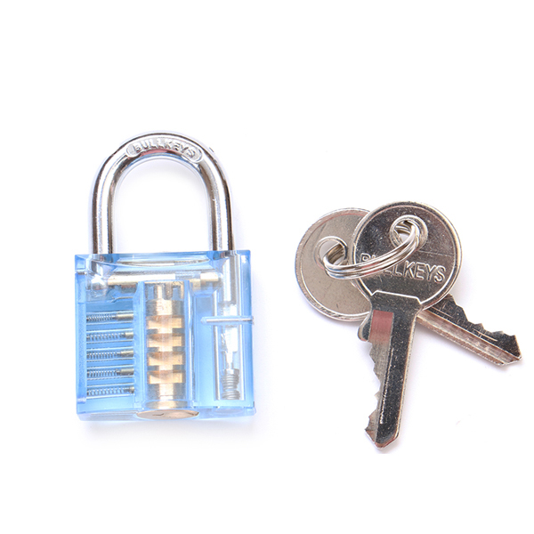 SPARTA blue visible cutaway lock 5 pins for locksmith Practice Beginner