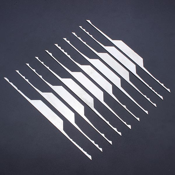Sparta 10-pieces Wave Rake Lock Pick Set