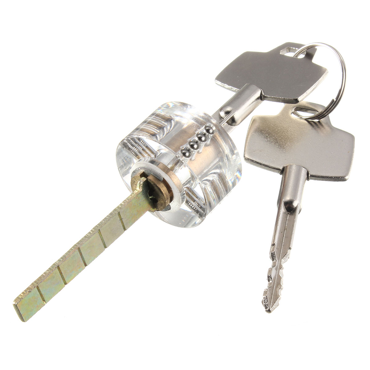 SPARTA visible pin cylinder tubular lock for Locksmith Practice Training Beginner